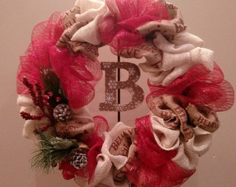 Personalized Holiday Wreath
