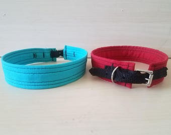 Fabric Covered Webbing Collar