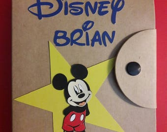 Disney Autograph Book Inspired by Disney. Pen Included! autographs-Disneyland-Disneyworld