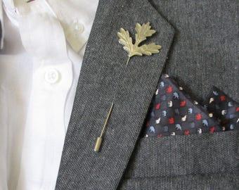 Lapel Pin Maple