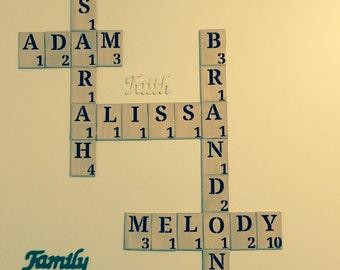 Scrabble letter, 2.00 per letter