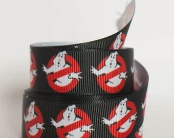 "Ghostbusters 7/8"" Grosgrain Ribbon 800"