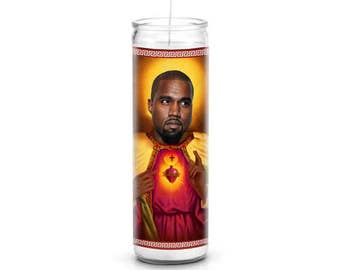 Kanye West Celebrity Prayer Candle