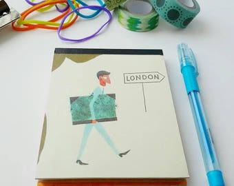 Personal Notepad, To Do Lists, Notebook, Jotters, Hardcover Notebook for Him
