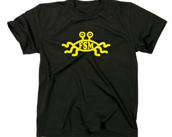The flying spaghetti monster FSM T-Shirt