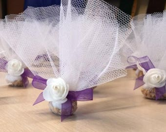 WEDDING FAVOURS /10 pieces/buckwheat grains /