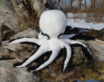 "Soft toy ""Octopus"", sea animals, home decor"