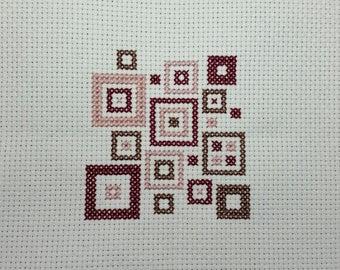 Geometric Square Cross Stitch