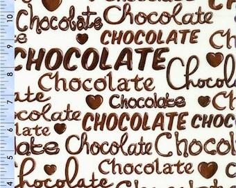 Kanvas Studio Oh Fudge! Chocolate 08353 07--           1 yard cuts