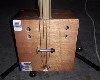 4 string Acid cigar box guitar