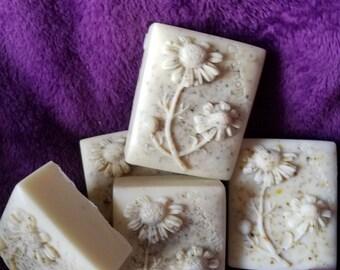 Chamomile Flower Goat Milk Soap