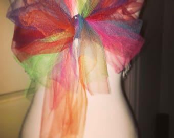 Rainbow Party /Rave bra