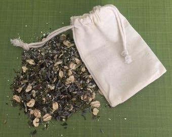 Tea Time Herbal Bath Tea With Essential Oils Single Tea Bag