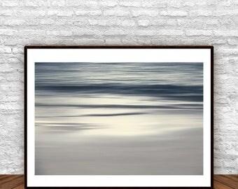 Coastal Decor, Grey Wall Art, Abstract Decor, Printable Scandi Decor,  Contemporary Decor, Printable Art, Bedroom Wall Art, Gray Wall Decor