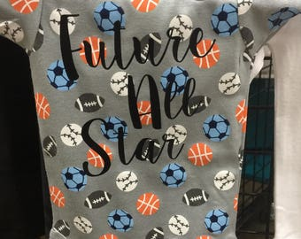 Short sleeve baby onesie