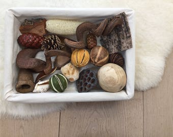 Large All-Natural Treasure Basket