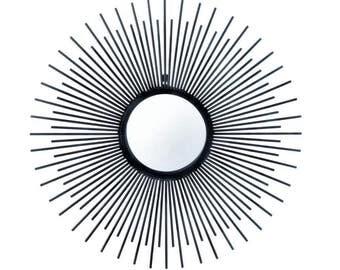Iron Rays Wall Mirror