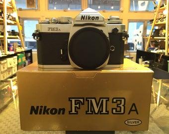 Nikon FM3A Silver Body