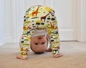 Hainmade UK Safari Park harem leggings baby leggings toddler leggings unisex baby leggings baby clothes handmade leggings