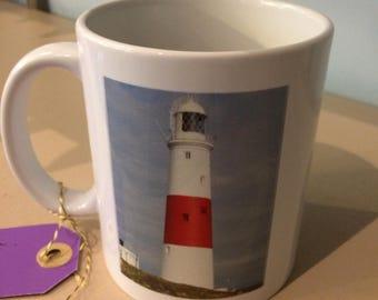 Portland Bill Lighthouse photographic mug