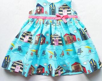 Girls Seaside Summer Dress