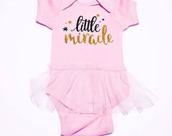 Little Miracle Baby Onesie