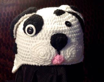 Crochet puppy beanie (6-12 Months)