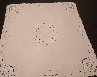 Vintage Tablecloth 100% cotton
