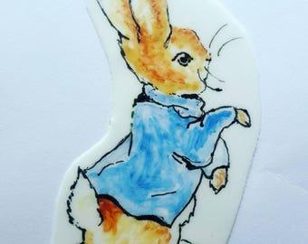 2D Peter Rabbit Cake Decoration
