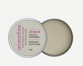 Lip Balm  | Cacao and Peppermint