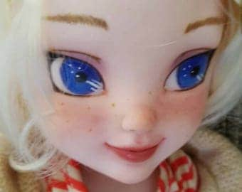 Elsa Toddler Doll Repaint