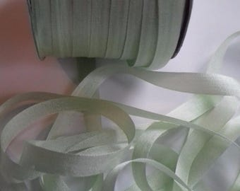 7 mm Silk Ribbon Mint Green