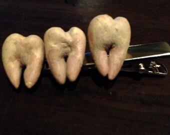 Teeth hair clip
