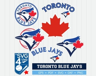 Toronto Blue Jays Cut Files, SVG Files, Baseball Clipart, Cricut Toronto Blue Jays Cutting Files, Baseball DXF, Clipart, Instant Download
