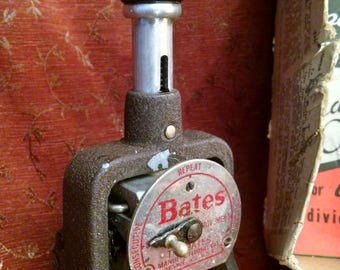 Bates Numbering Machine