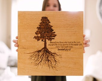 Wood Burning Art, Scripture
