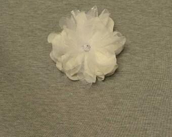 Broach sparkly white