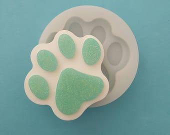 Paw flexible silicone mold Matt (random color)