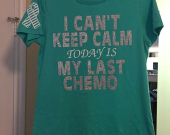 Last day of chemo shirt