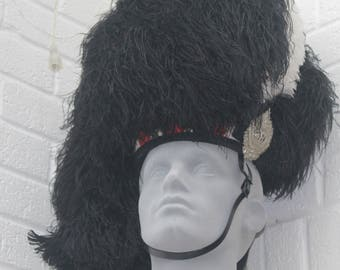 Argyll and Sutherland Highlanders Piper's Feather Bonnet