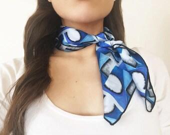 Neckerchief - Chagall Blue