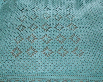 Lacy Treasure baby blanket