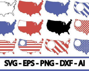70 % OFF, USA SVG Files, 4th of July SVg Designs, America svg file, Digital Files for Cutting, usa monogram frame, usa Cut Files,svg,dxf,ai