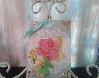 Easter greeting cards shabby chic