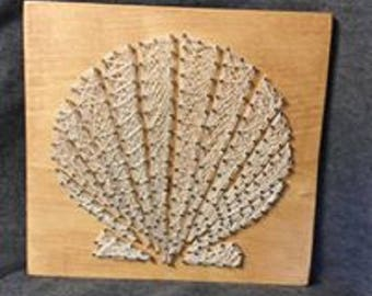 She sells Seashells by the Seashore String Art