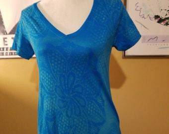 Hand Bleached Tee Shirt Custom Design