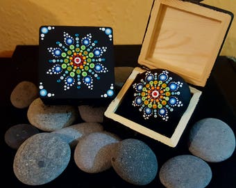 BarbaraMandala#TFS24  Mandala Jewellery Box with Swarovski