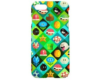 Mario bros iPhone 7 case iPhone 7 plus case iPhone 6s case iPhone 6 iPhone 6s plus iPhone 6 plus iPhone 5s case iPhone SE iPhone 4s case