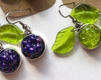 Grape Cluster Earrings-Wine Lovers-Wine Gifts