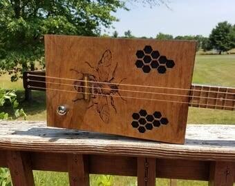 3 string Cigar Box Guitar CBG